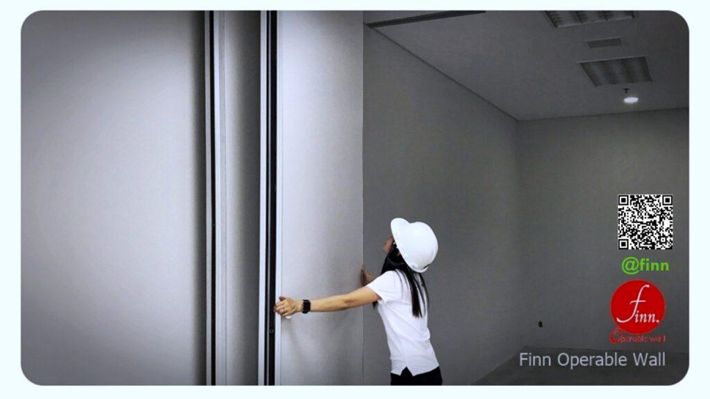 Finn (ผนังบานเลื่อนเคลื่อนย้าย) MOVABLE WALL SYSTEM by FINN De'cor
